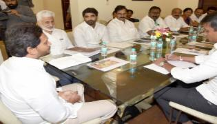 YSRCP parliamentary party meeting begins Photo Gallery - Sakshi