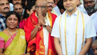 YV Subba Reddy Takes Oath As TTD Chairman In Tirupati Photo Gallery - Sakshi