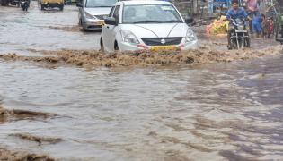 Heavy Rain In Hyderabad Today Photo Gallery - Sakshi