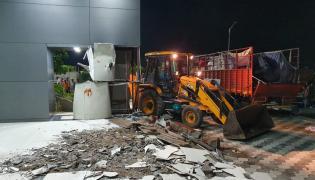 Praja vedika Demolishing Work Started Photo Gallery - Sakshi