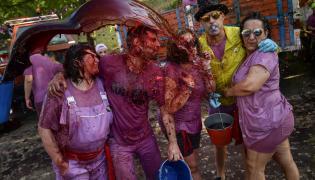 Spain Wine Festival Photo Gallery - Sakshi
