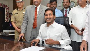 AP CM Jagan First Day in Secretariat in Amaravathi Photo Gallery - Sakshi