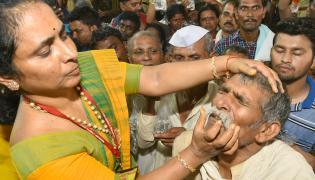 Fish Medicine Distribution In Hyderabad 2019 Photo Gallery - Sakshi