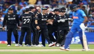 New Zealand beat India by 18 runs to enter final Photo Gallery - Sakshi