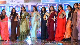 Villa Marie College Fresher Day for women Somajiguda Hyderabad Photo Gallery - Sakshi