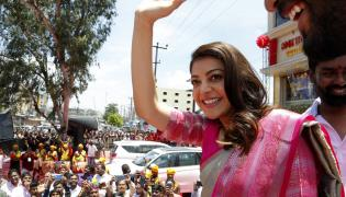 Kajal Agarwal Launched Maangalya Shopping Mall in Boduppal Photo Gallery - Sakshi