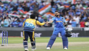 India beat Sri Lanka by seven wickets - Sakshi