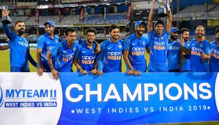 India Vs West Indies Cricket Third One Day Match Photo Gallery - Sakshi