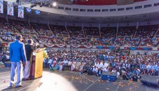 CM YS Jagan Excellent Speech at the Dallas Convention Center Photo Gallery - Sakshi