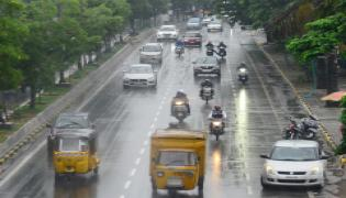 heavy rainfall in hyderabad Photo Gallery - Sakshi