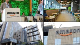 Amazon opens its largest campus in the world in Hyderabad - Sakshi