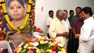 CM Ys Jagan Pays Condolences Mahalakshmamma Photo Gallery - Sakshi