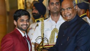President Kovind Gives Away National Sports Awards Photo Gallery - Sakshi
