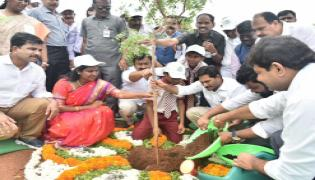 CM Ys Jagan Speech Vanamahotsava Program Guntur Photo Gallery - Sakshi
