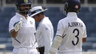 India Vs West Indies Second Test Cricket Match Photo Gallery - Sakshi