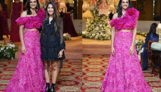 Sindhu walks Ramp for Designer Shriya Bhupal Fashion Show Photo Gallery - Sakshi