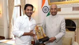 CM YS Jagan meets President Ramnath Kovind Photo Gallery - Sakshi