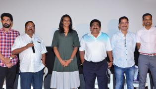 PV Sindhu Watches Kousalya Krishnamurthy Movie Photo Gallery - Sakshi