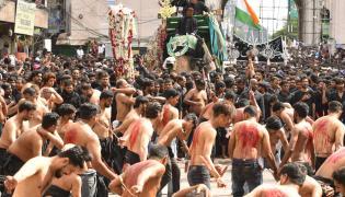 Muharram Festival Celebrations in Hyderabad Photo Gallery - Sakshi