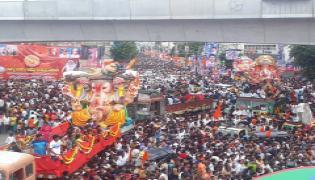 hyderabad ganesh nimajjanam Photo Gallery - Sakshi