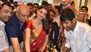 Kajal Aggarwal at Maangalya Shopping Mall launch in kukatpally - Sakshi