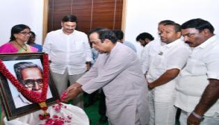 Gurram Joshua Jayanti Celebrations At AP CM Camp Office In Vijayawada Photo Gallery - Sakshi