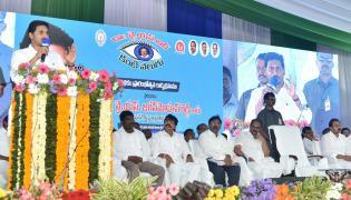 CM Jagan Launch YSR Kanti Velugu Scheme In Anantapur - Sakshi