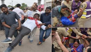 Statewide Bandh In Telangana Photo Gallery - Sakshi