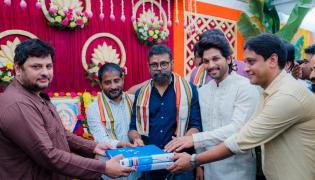 Allu Arjun And Sukumar New Movie Opening Photo Gallery - Sakshi