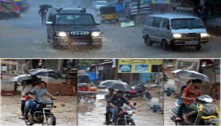 Heavy Rain in Hyderabad Photo Gallery - Sakshi