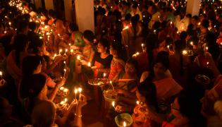 Karthika Pournami Celebrations AP AND TELANGANA Photo Gallery - Sakshi