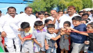 Mayor inaugurates Childrens Park in Gachibowli Photo Gallery - Sakshi