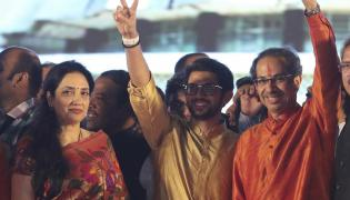 Newly Swor In Chief Minister Of Maharashtra Uddhav Thackeray - Sakshi