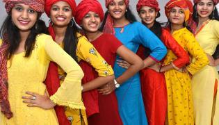 Villa Marie junior College Celebrations With at Somajiguda Photo Gallery - Sakshi