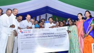 YS Jagan Distributes Cheques To Agrigold Victims Photo Gallery - Sakshi