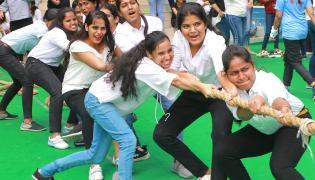 Villa Marie College Girls Farewell Fest Photo Gallery - Sakshi