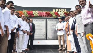 YS Jagan Laid Foundation Stone Steel Plant In Kadapa Photo Gallery - Sakshi