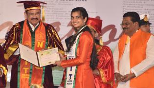 Venkaiah Naidu Participates Nit Convocation West Godavari Photo Gallery - Sakshi