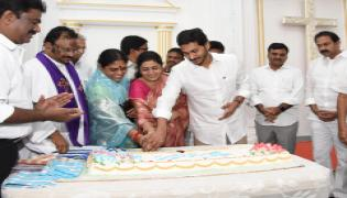 AP CM YS Jagan attended to Christmas Celebrations Photo Gallery - Sakshi