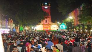 christmas celebration in hyderabad Photo Gallery - Sakshi