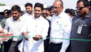 ys Jagan Inaugurates ysr Sports Complex Pulivendula Photo Gallery - Sakshi