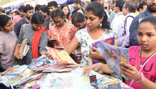 Heavy Rush Hyderabad Book Fair 2019 Photo Gallery - Sakshi