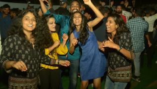 New Year Celebration 2020 IN Hyderabad - Sakshi