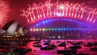 New Year Celebration Sydney Photo Gallery - Sakshi