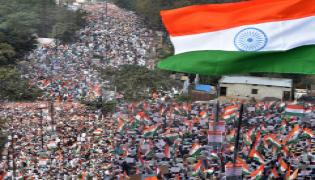 Tiranga Rally against CAA taken out in Hyderabad Photo Gallery - Sakshi