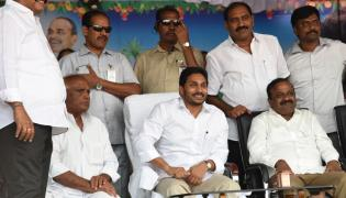 CM Jagan Reddy participates in Sankranti celebrations at Gudivada - Sakshi