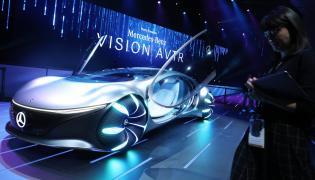 Benz Vision AVTR Concept Car Launches Photo Gallery - Sakshi
