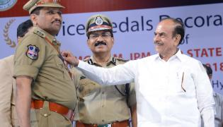 home minister mohammed mahmood ali to present police medals to cops Photo Gallery - Sakshi