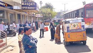 Hyderabad City Bus Stops Photo Gallery - Sakshi