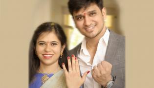 Nikhil Siddhartha gets engaged with girlfriend Pallavi Photo Gallery - Sakshi